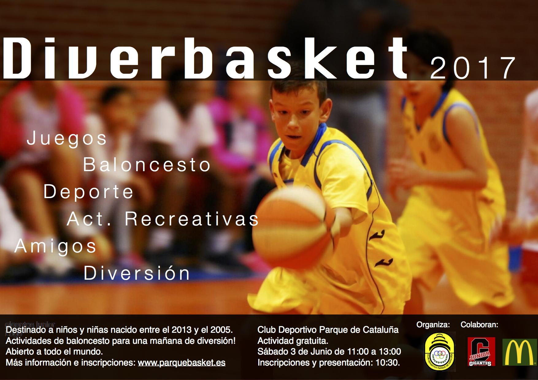 Cartel Diverbasket 2017